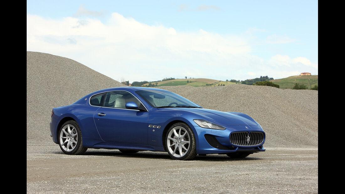 Maserati Gran Turismo Sport, Seitenansicht