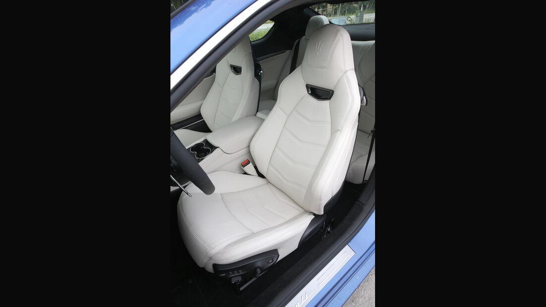 Maserati Gran Turismo Sport, Sitz, Fahrersitz