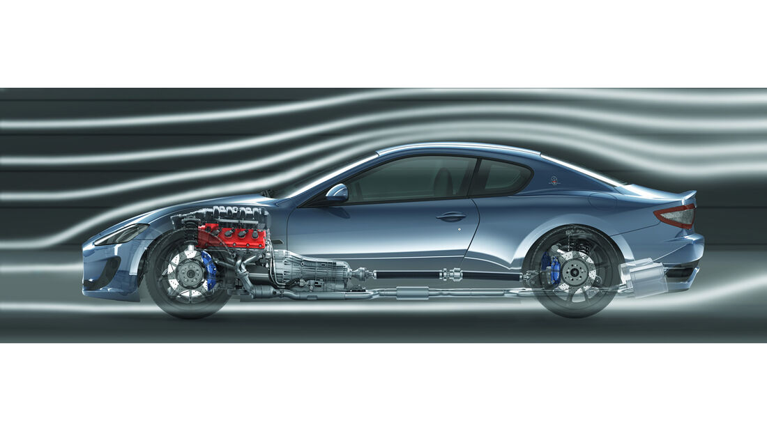Maserati Gran Turismo Sport, Windkanal