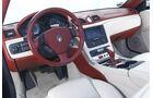 Maserati GranCabrio, Cockpit, Lenkrad