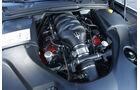 Maserati GranCabrio, Motorraum, Motor, V8