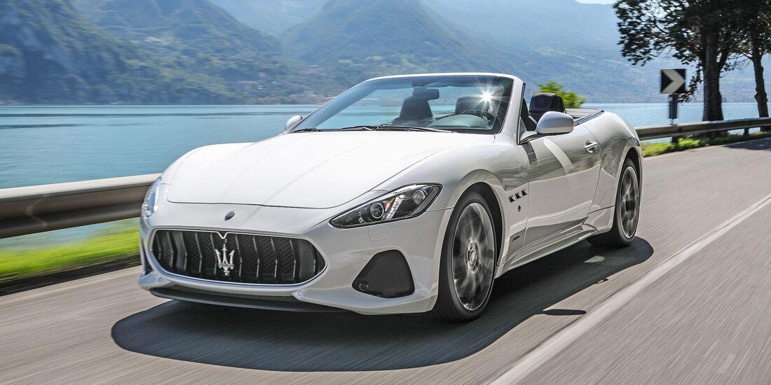 Maserati GranCabrio - Serie - Cabrios bis 150000 Euro - sport auto Award 2019