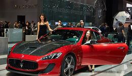 Maserati GranTurismo, Genfer Autosalon, Messe, 2014