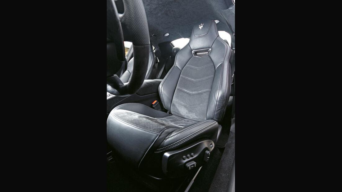 Maserati GranTurismo Sport, Fahrersitz