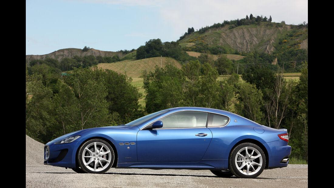 Maserati GranTurismo Sport, Seitenansicht