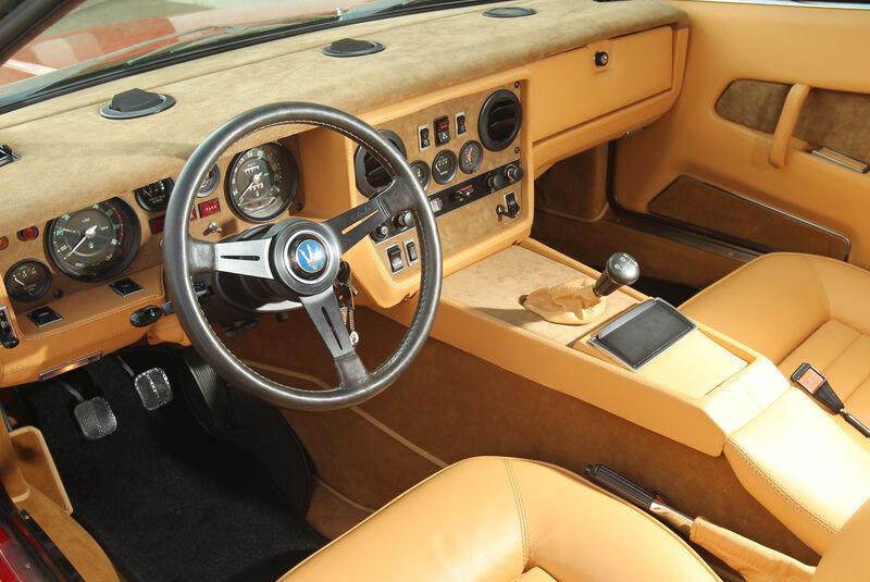 Maserati Khamsin, Cockpit