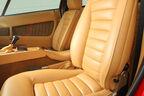 Maserati Khamsin, Fahrersitz