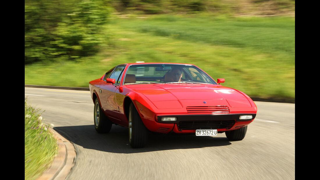 Maserati Khamsin, Frontansicht