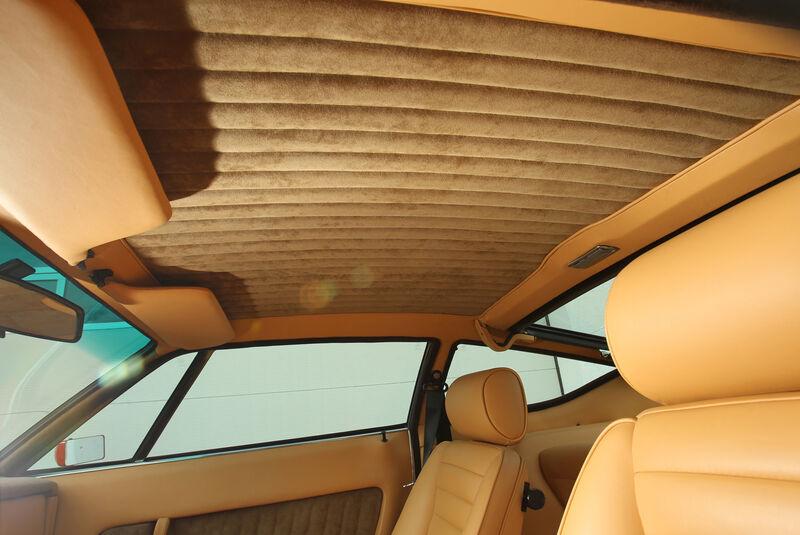 Maserati Khamsin, Himmel