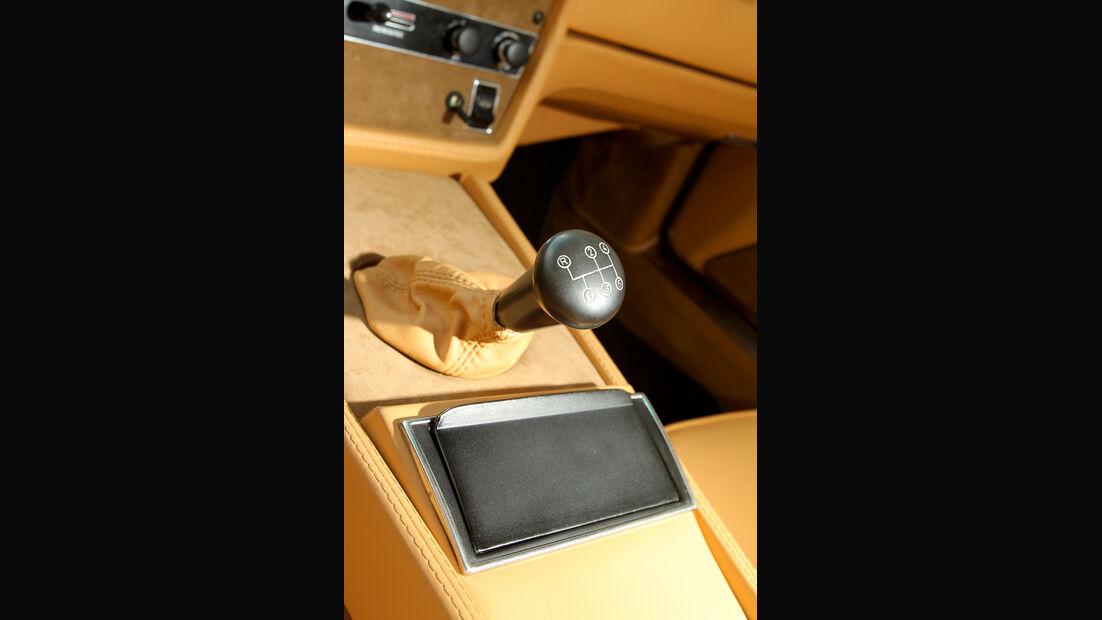 Maserati Khamsin, Schalthebel, Gangschaltung