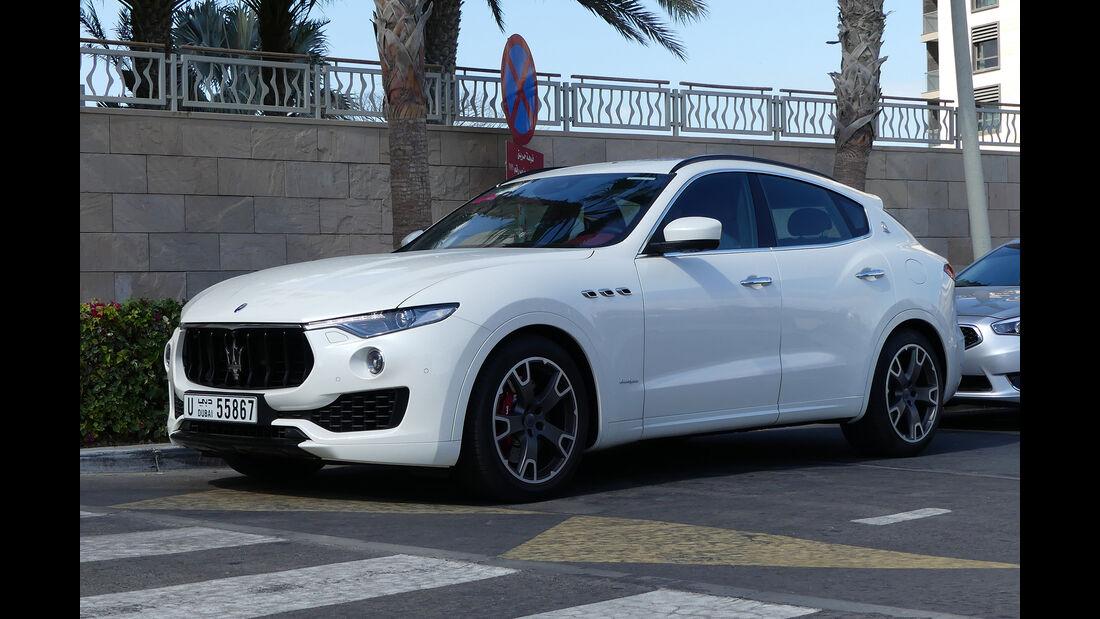 Maserati Levante - Carspotting - Abu Dhabi 2017