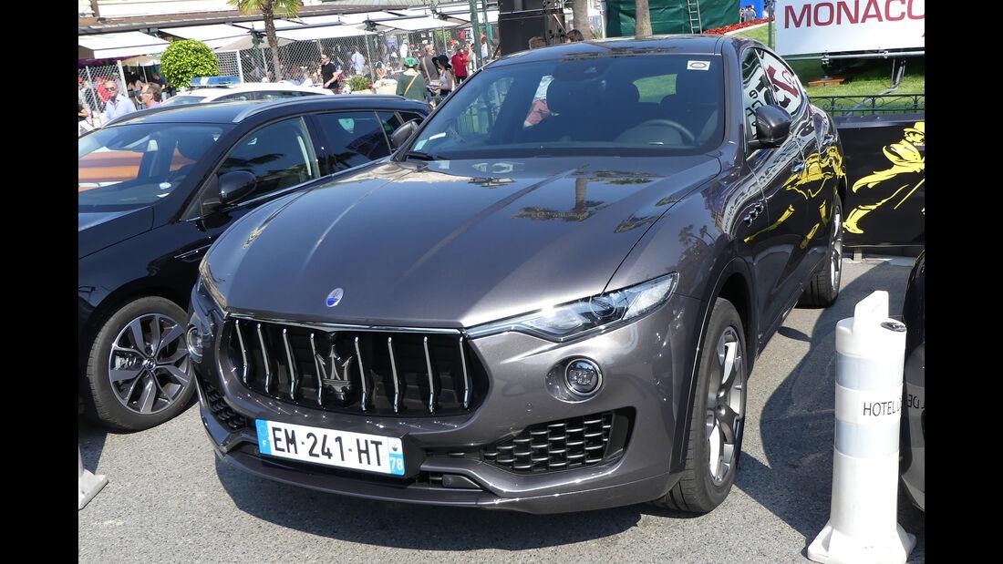Maserati Levante - Carspotting - GP Monaco 2017