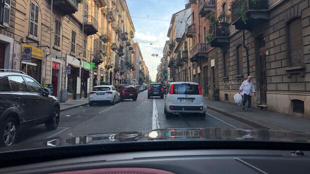 Maserati Levante GTS Turin Innenstadt