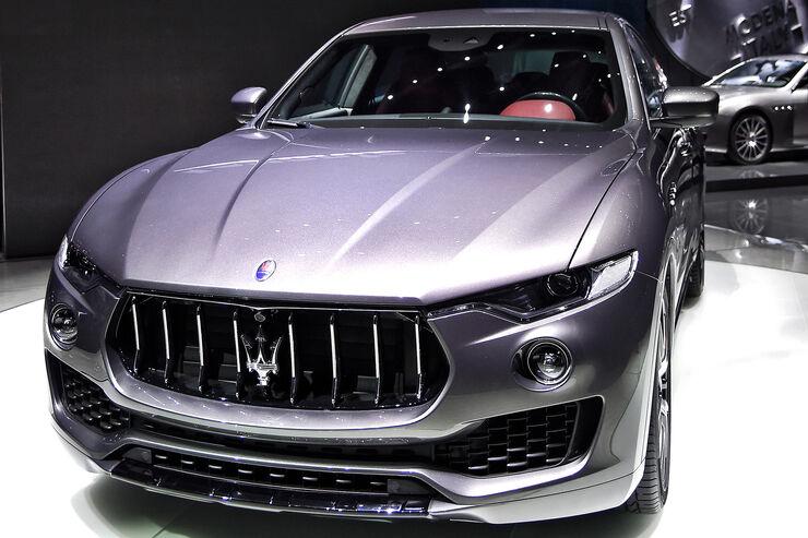 sitzprobe maserati levante: luxus-suv startet 2016 - auto motor
