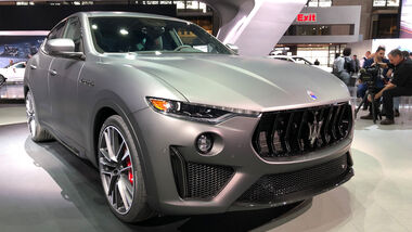Maserati Levante Trofeo 2018 New York