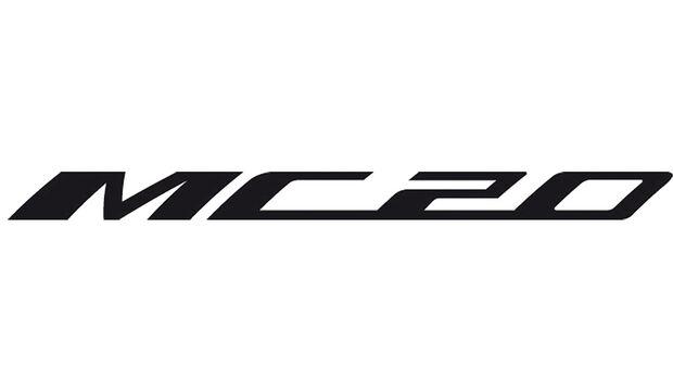 Maserati MC20 Schriftzug