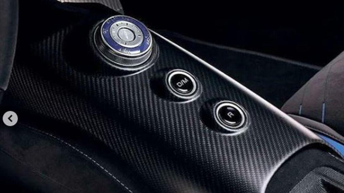 Maserati MC20 Sportwagen Leak