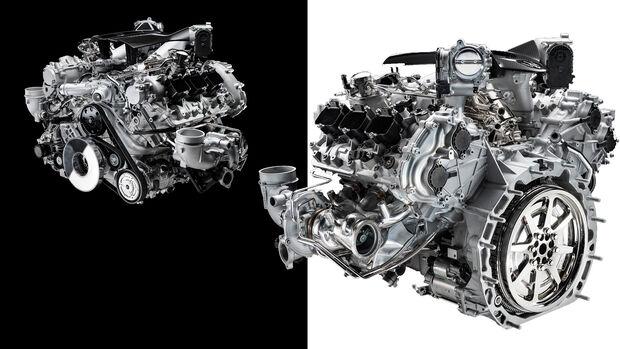 Maserati Nettuno Motor MC20 Sechszylinder Vorkammer Doppelzündung