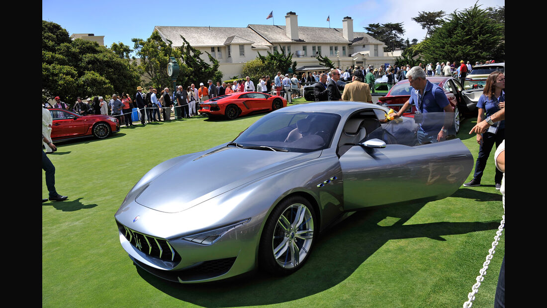Maserati - Pebble Beach 2014 - Pebble Beach Concours d'Élegance - 08/2014