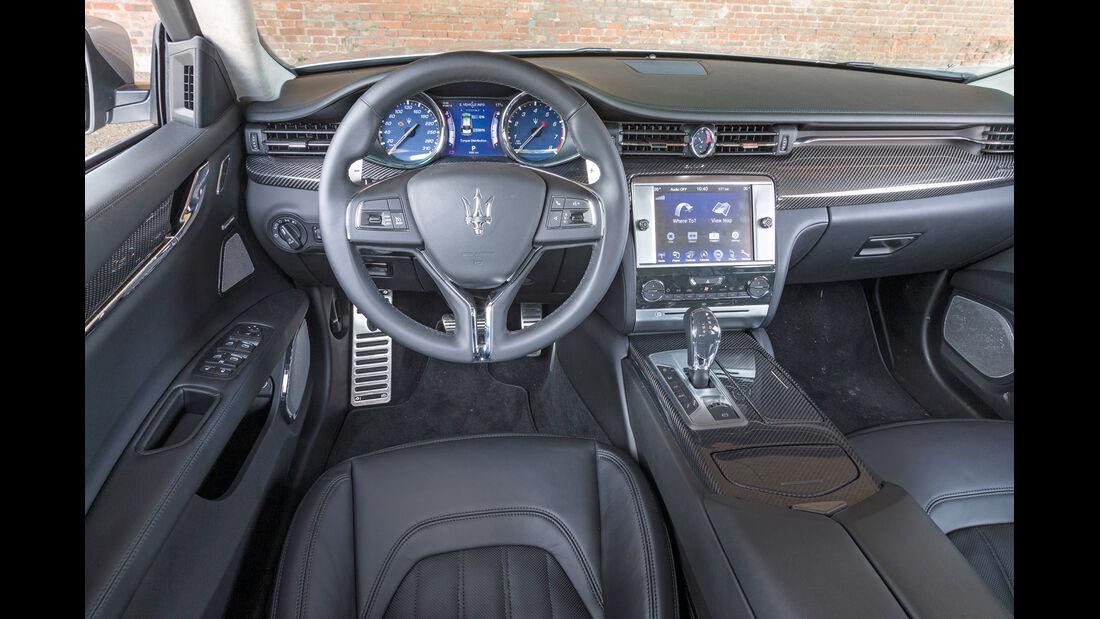 Maserati Quattroporte A Q4, Cockpit, Lenkrad
