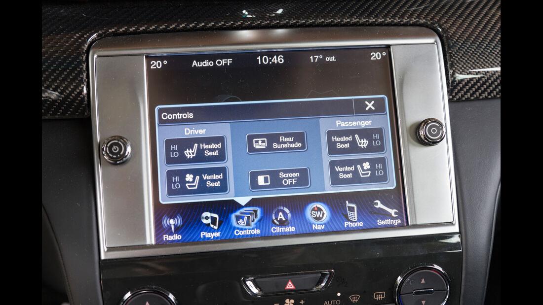 Maserati Quattroporte A Q4, Display, Bordcomputer