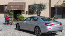 Maserati Quattroporte A Q4, Heckansicht, Cafe