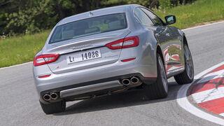 Maserati Quattroporte A Q4, Heckansicht