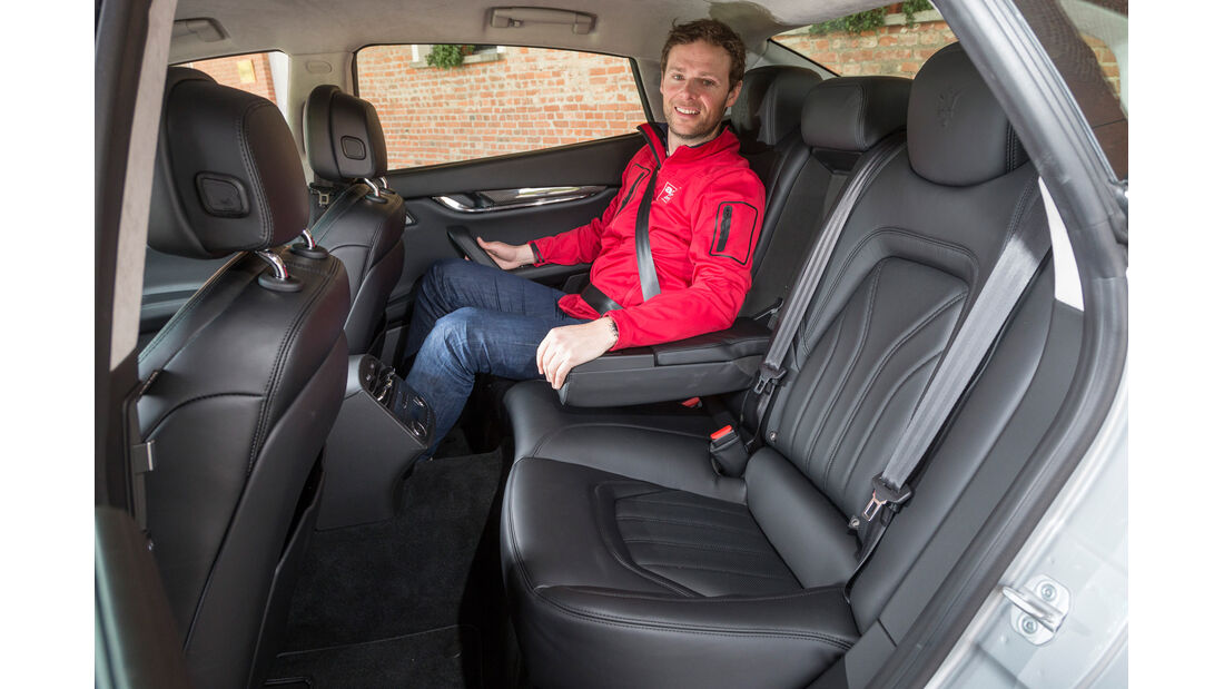 Maserati Quattroporte A Q4, Rücksitz, Armlehne