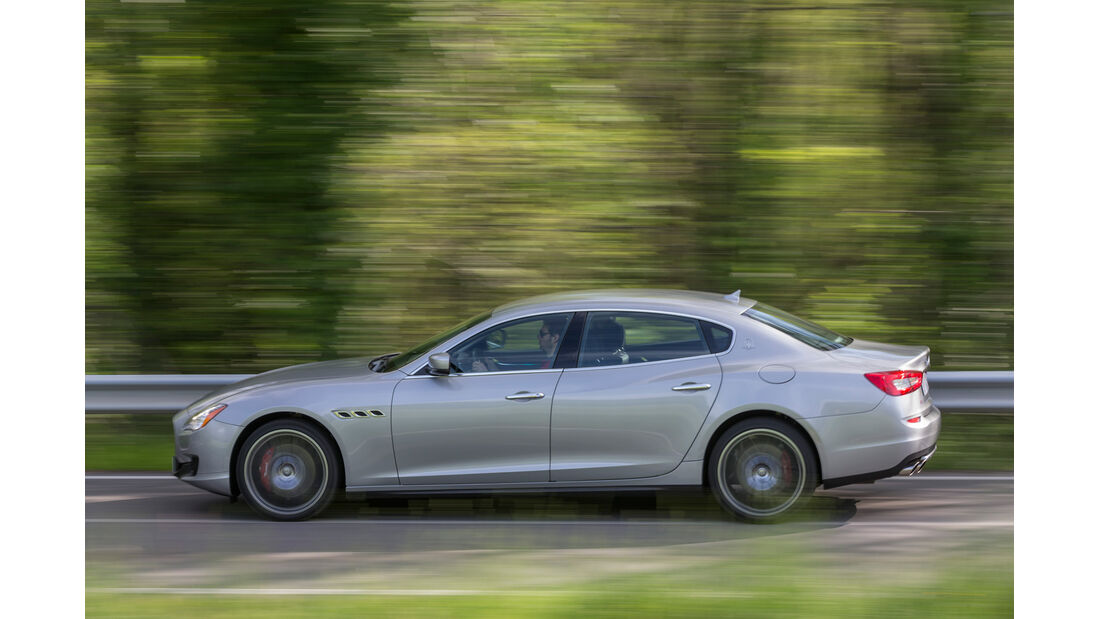 Maserati Quattroporte A Q4, Seitenansicht