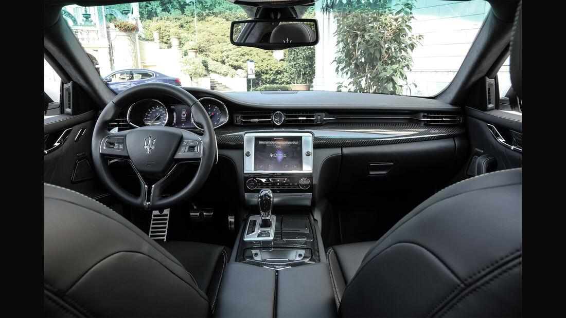 Maserati Quattroporte, Cockpit
