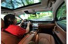 Maserati Quattroporte Diesel, Cockpit, Fahrersicht