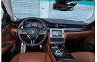 Maserati Quattroporte Diesel, Cockpit