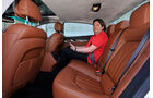 Maserati Quattroporte Diesel, Fondsitz, Beinfreiheit