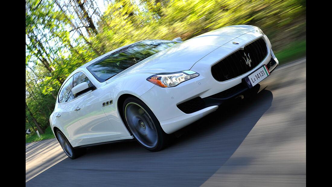 Maserati Quattroporte Diesel, Frontansicht