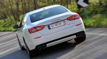 Maserati Quattroporte Diesel, Heckansicht