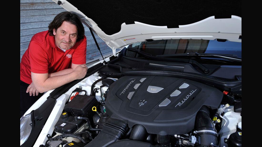 Maserati Quattroporte Diesel, Motor