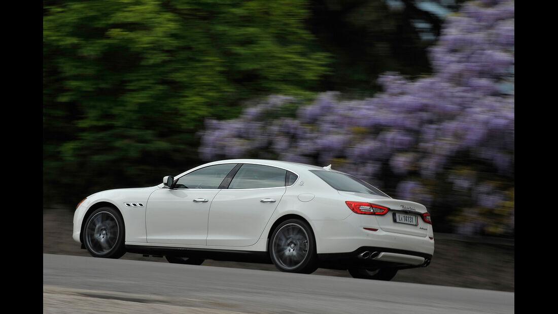 Maserati Quattroporte Diesel, Seitenansicht