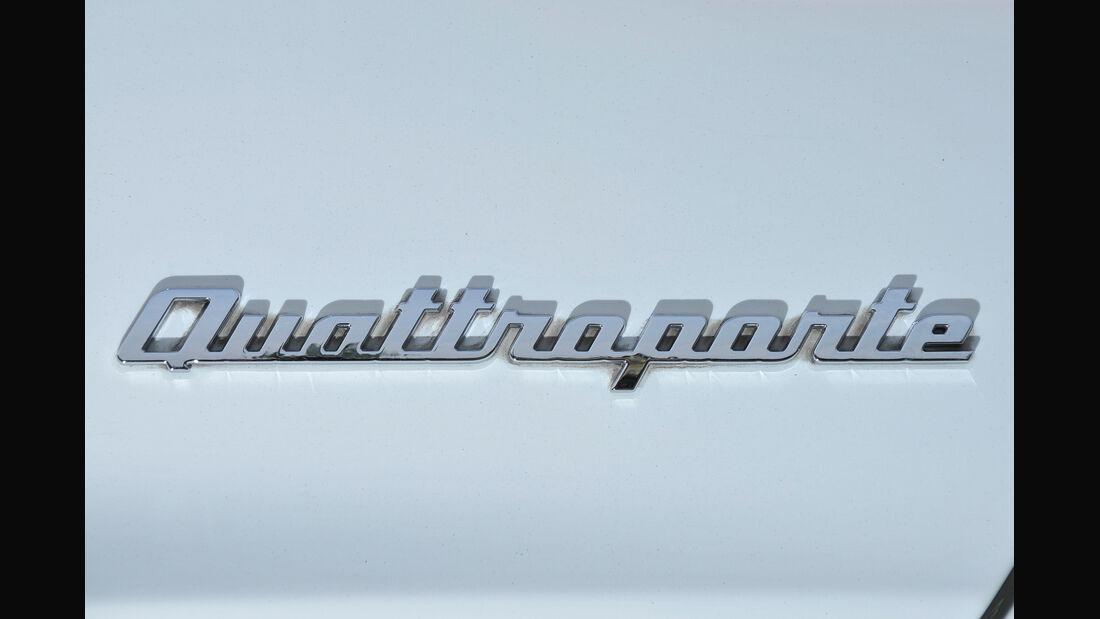 Maserati Quattroporte Diesel, Typenbezeichnung