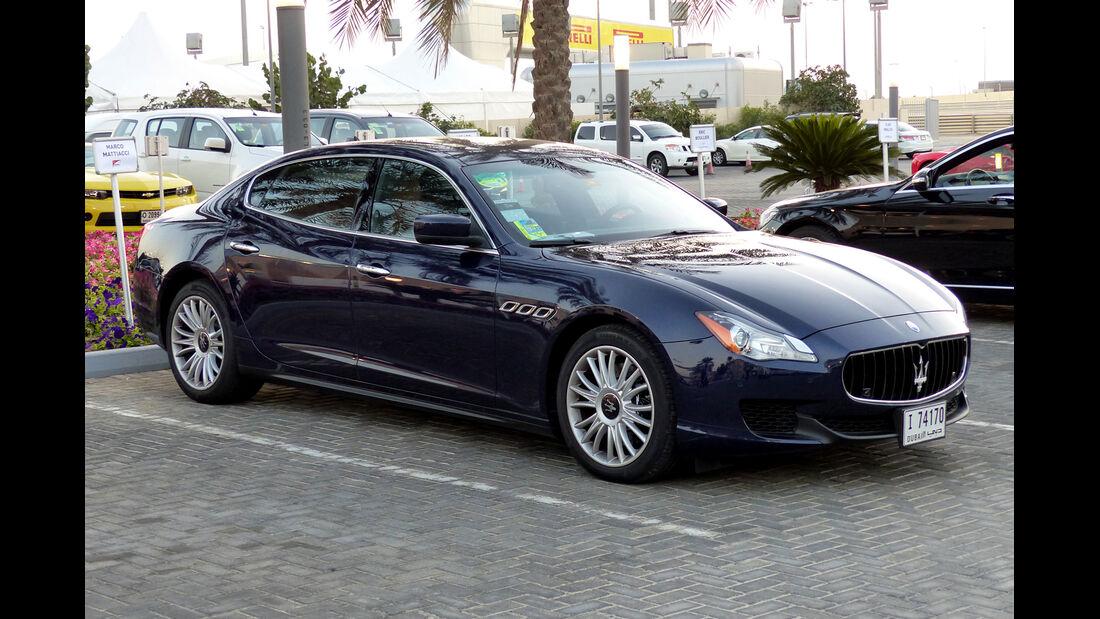 Maserati Quattroporte - F1 Abu Dhabi 2014 - Carspotting