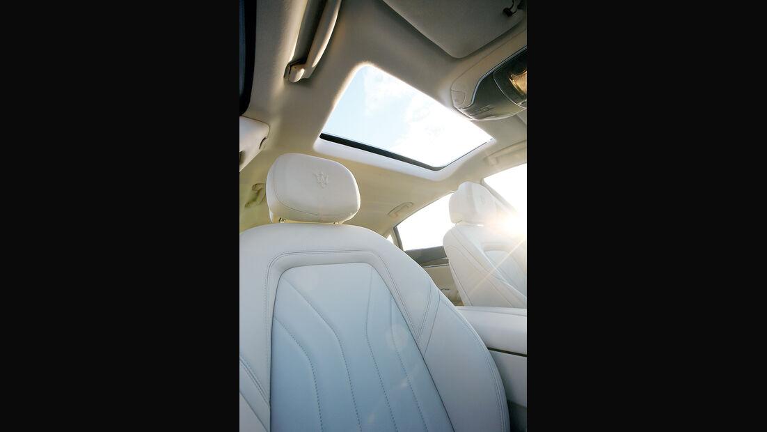 Maserati Quattroporte, Fahrersitz, Dachfenster