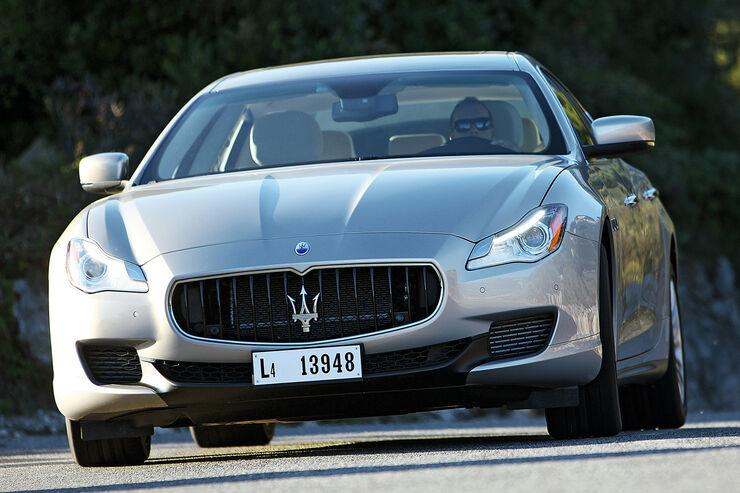 Maserati Quattroporte, Frontansicht