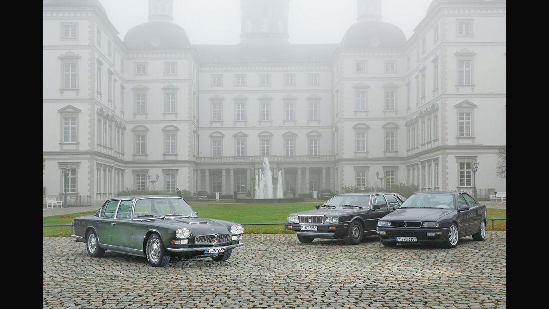 Maserati Quattroporte, Generationen