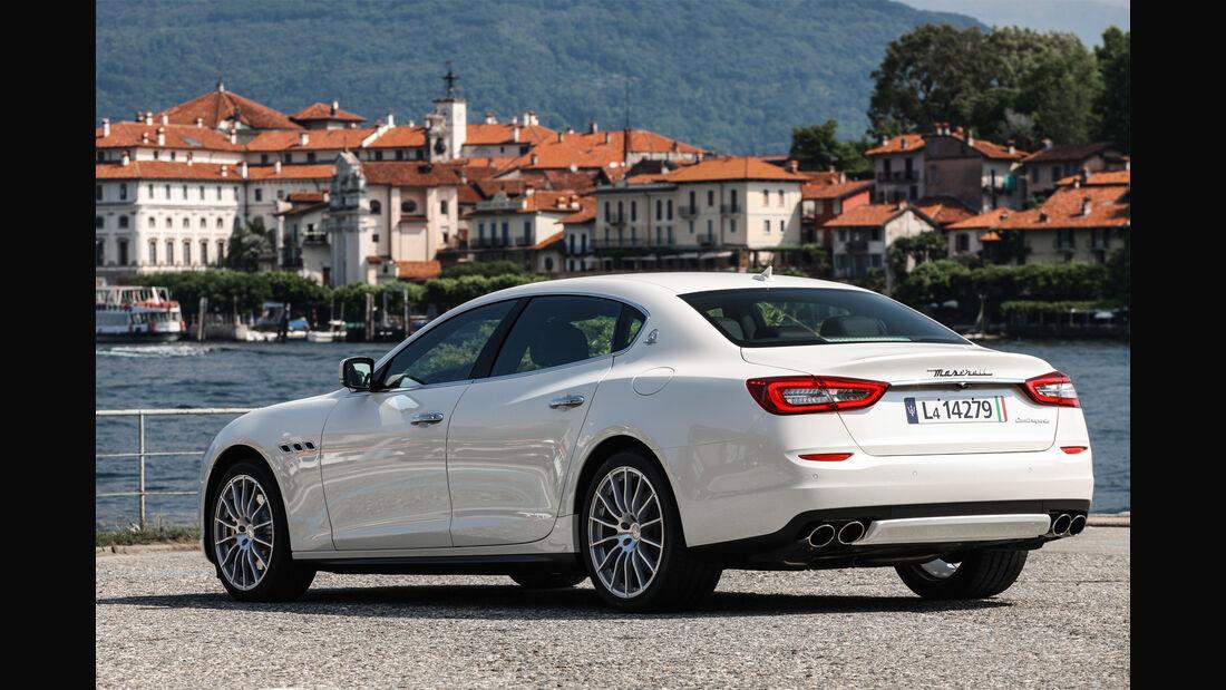 Maserati Quattroporte, Heck
