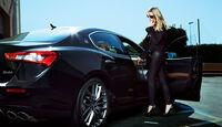 Maserati Quattroporte Heidi Klum