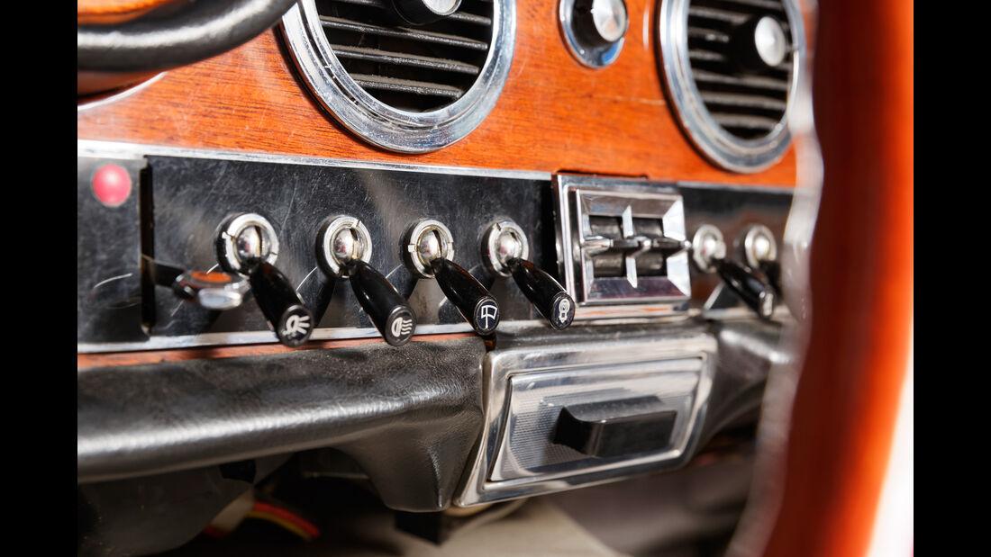 Maserati Quattroporte I 4200, Bedienelemente, Armaturenbrett
