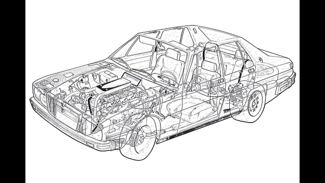 Maserati Quattroporte I 4200, Durchsicht