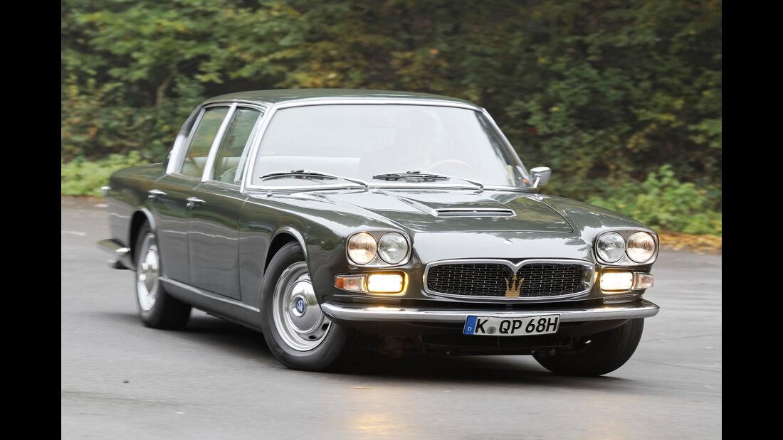 Maserati Quattroporte I 4200, Frontansicht