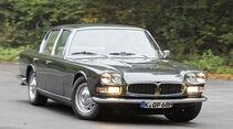 Maserati Quattroporte I, Frontansicht