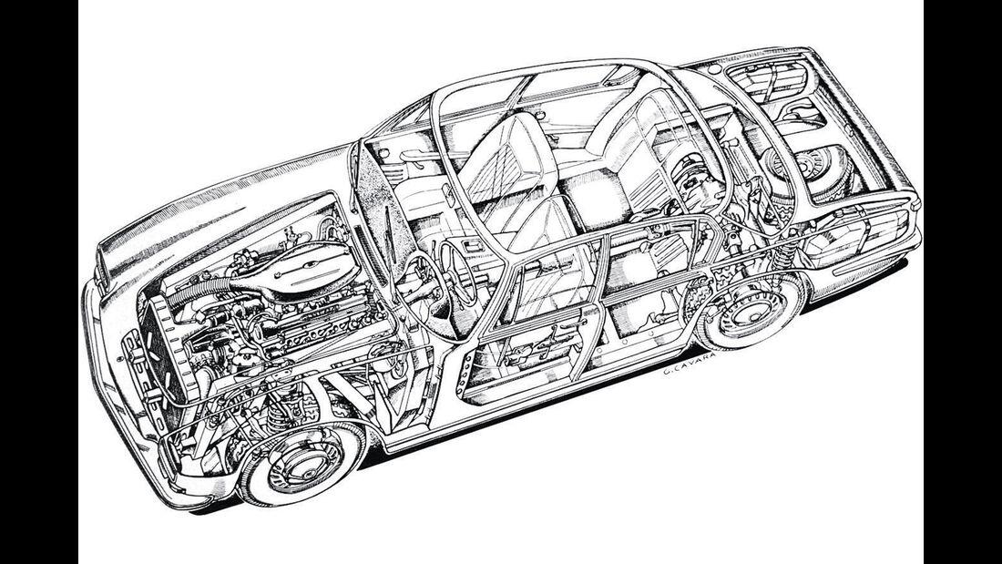 Maserati Quattroporte III 4900, Durchsicht