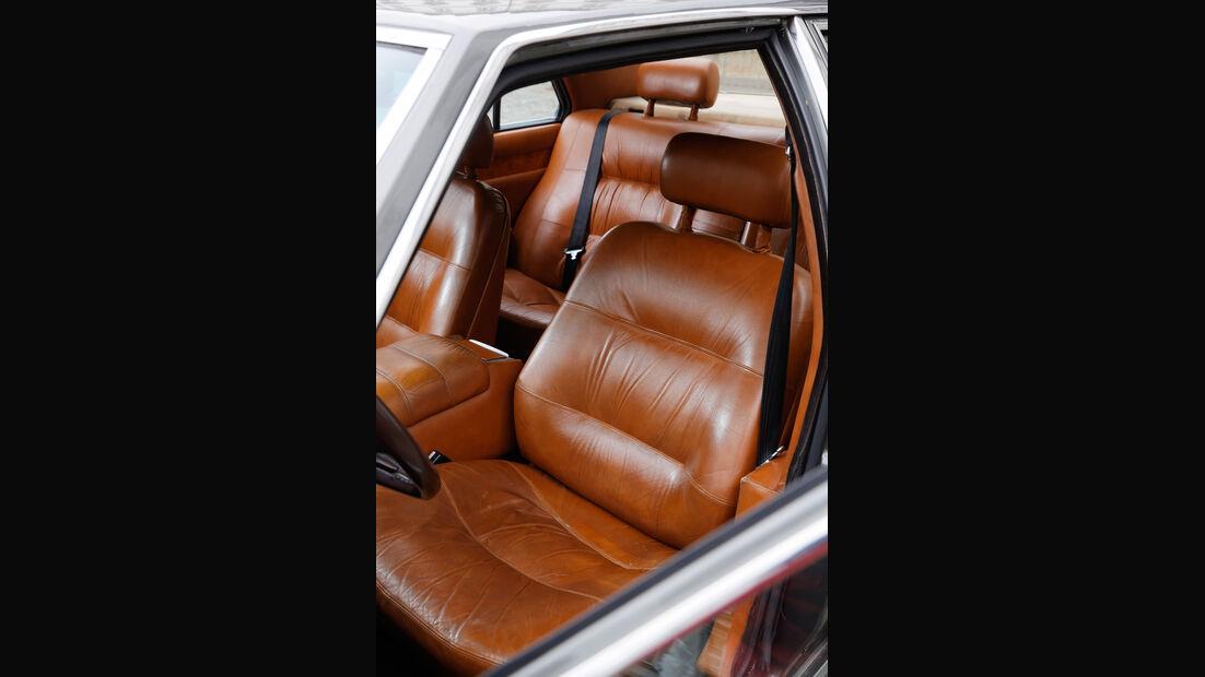 Maserati Quattroporte III 4900, fahrersitz